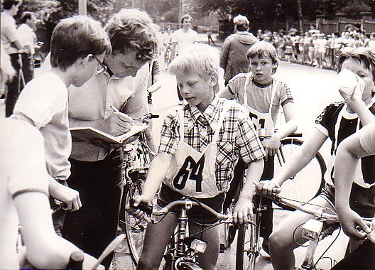 Radrennen in Löbau
