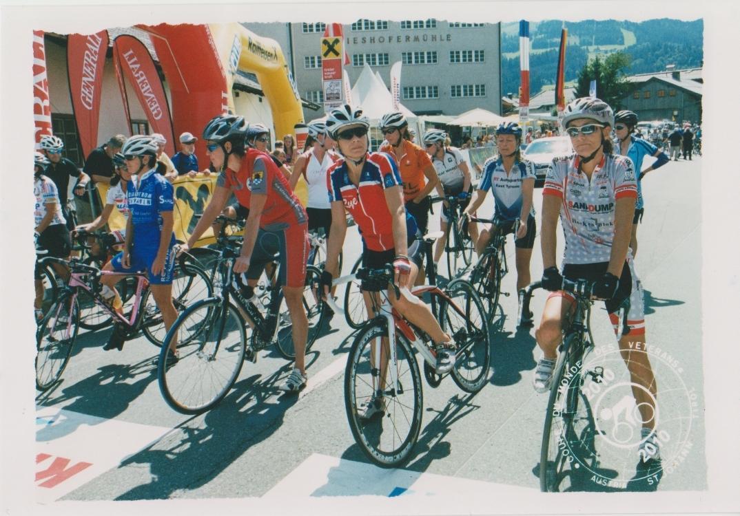 Am Start: 42. Radweltpokal Frauen Klasse D, Jg. 1961-1965
